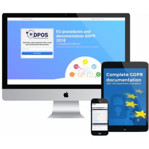 Complete GDPR documentation witch risk assessment procedure - 149 PLN  - (39 USD)