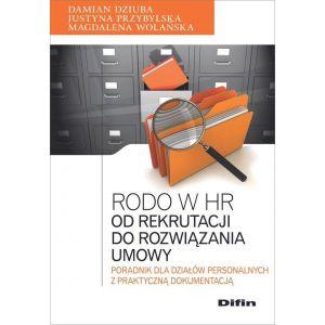 RODO w HR Od rekrutacji do rozwiązania umowy